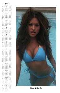 11+17 Miss Setha So Poster Calender