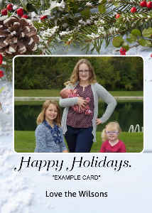 HOLIDAY EXAMPLE CARD