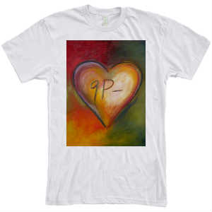 THE  WHITE HEART SHIRT