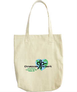 Tote bag with 9p Minus Logo