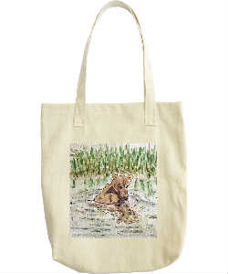 Bear Reflections Tote Bag