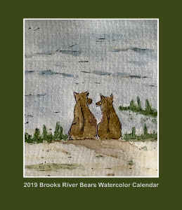CD Case 2019 Bear Calendar