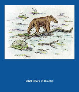 2020 Big Bears of Brooks Calendar
