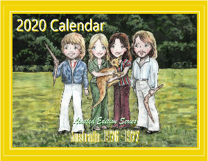 2020 Illustrated Calendar Limited Edition Series