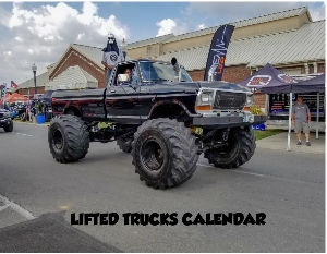 2019 LIFTED TRUCKS CALENDAR
