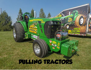 PULLING TRACTOR CALENDAR
