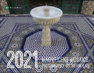 2021 Magnificent Mosaics Wall Calendar