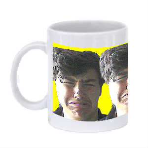 AJosh Droid Yellow Mug