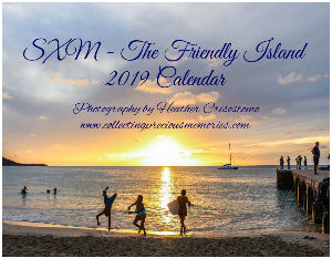 SXM - The Friendly Island 2019 Calendar