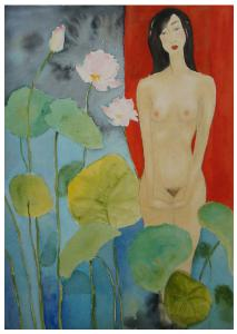 Lotus Pond Girl