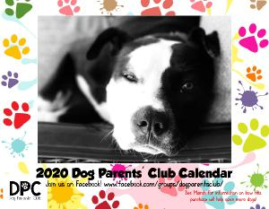 2020 Dog Parents' Club Wall Calendar