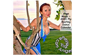 Ange Maya 2020 Fly Boating Dance Poster Calendar 5