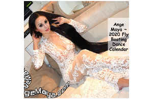 Ange Maya 2020 Fly Boating Dance Poster Calendar 4
