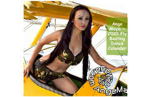 Ange Maya 2020 Fly Boating Dance Poster Calendar 3