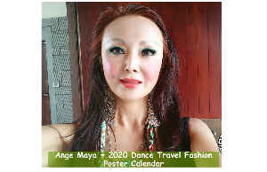 Ange Maya 2020 Fashion Travel Poster Calendar 9