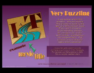 Very Puzzling - a wall calendar of rebus puzzles
