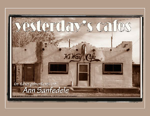 Yesterday's Cafes - a wall calendar