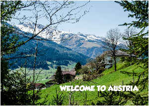 WELCOME TO AUSTRIA