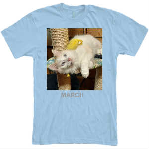 MARCH T-SHIRT 2