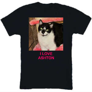 I LOVE ASHTON T-SHIRT