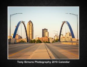 Tony Simons Photography 2019 Calendar