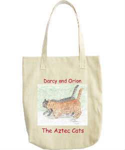 Darcy and Orion Drawing Tote Bag