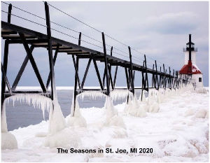 The Seasons in St. Joe., MI 2020 Calendar