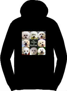 Bichon Frise Rescue of Northern New Jersey Hoodie