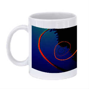 Black Coral Coffee Mug