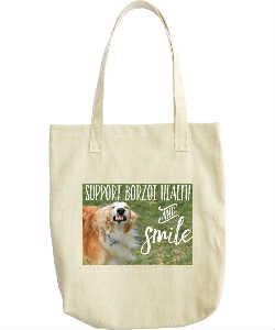 Borzoi Health Fundraiser Bag!