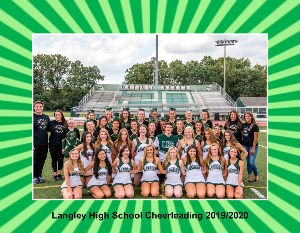 Langley High School Cheer Calendar 2019/2020
