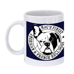 Mac's Finest Logo coffee mug
