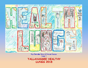 Tallahassee Healthy Lungs Artists 2018