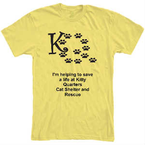 Kitty Quarters Supporter T-Shirt