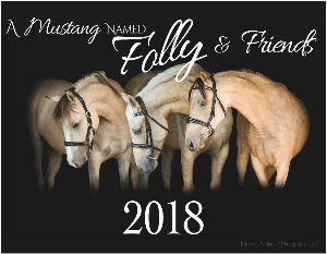 A Mustang Named Folly & Friends Calendar