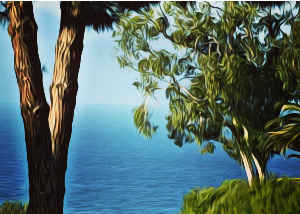 Note Card Peek A Boo View Rancho Palos Verdes