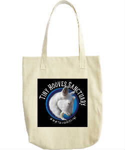 Classic Tiny Hooves Logo Tote Bag