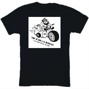 Let's Ride T-shirt Black
