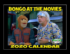 Movie Talk - Bongo At The Movies 2020 calendar