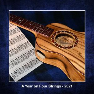 A Year on Four Strings - 12 month Ukulele Calendar