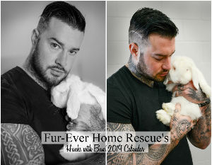 2019 Fur-Ever Home Rescue's Hunks with Buns