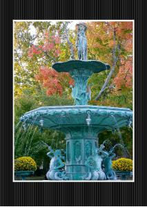 Broadway Fountain Greeting Card