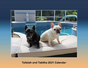 Tallulah and Tabitha French Bulldog Calendar