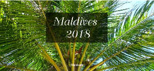 Maldives Calendar 2018 with quotes