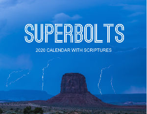 2020 Lightning Calendar With Scriptures