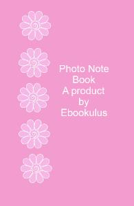 Ebookulus Photo Notebook