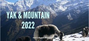 2020 Yak and Mountain Desk Calendar