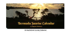 Bermuda Sunrise Calendar - Desk Top