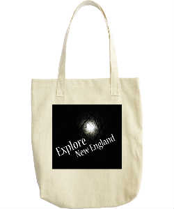 Explore New England logo bag
