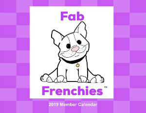 Fab Frenchies 2019 Calendar